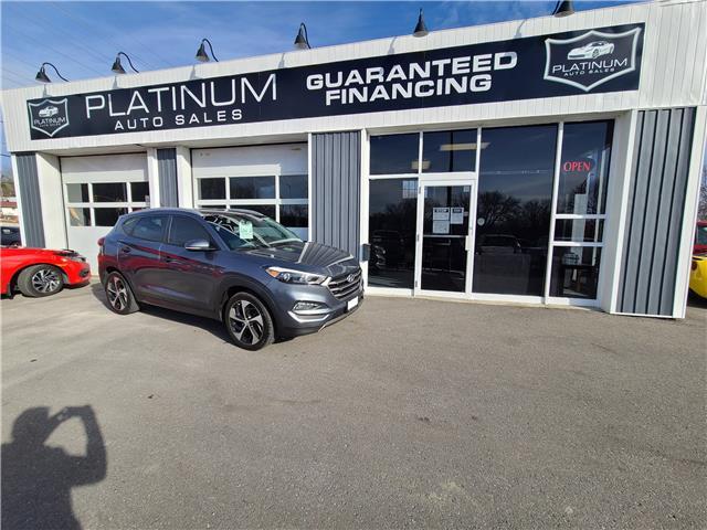 2016 Hyundai Tucson Premium 1.6 (Stk: ) in Kingston - Image 1 of 10