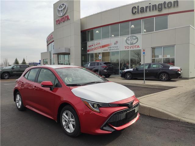 2021 Toyota Corolla Hatchback Base (Stk: 21160) in Bowmanville - Image 1 of 7