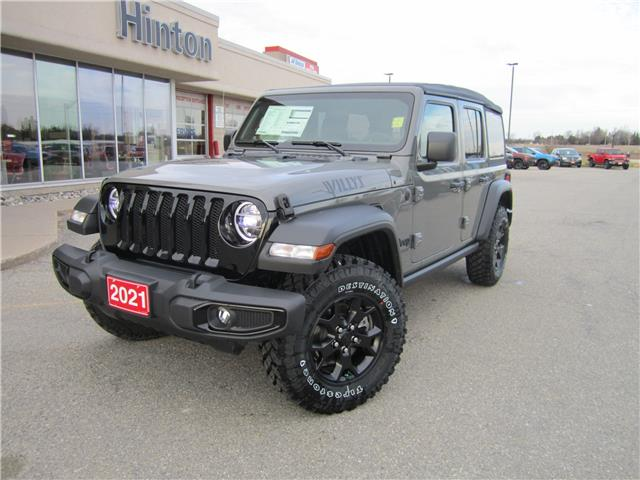 2021 Jeep Wrangler Unlimited Sport (Stk: 21036) in Perth - Image 1 of 13