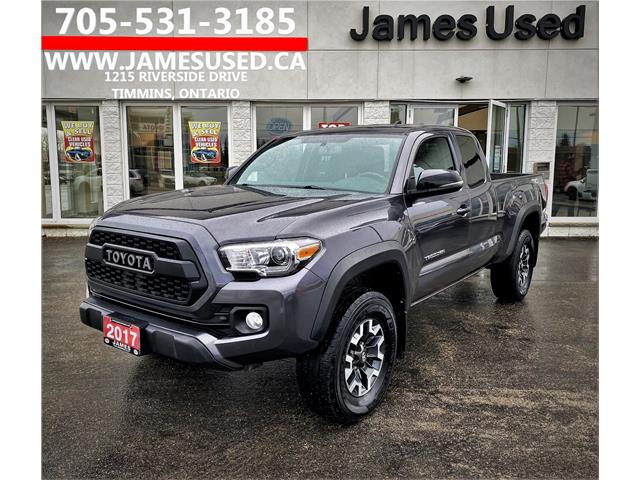 2017 Toyota Tacoma SR5 (Stk: N2168A) in Timmins - Image 1 of 13