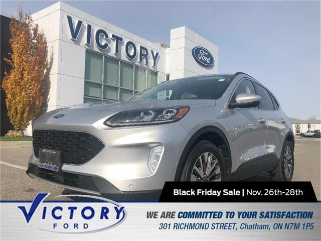2020 Ford Escape Titanium (Stk: V10459CAP) in Chatham - Image 1 of 22