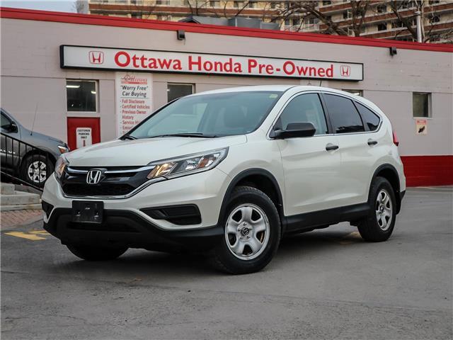2016 Honda CR-V LX (Stk: H87050) in Ottawa - Image 1 of 26