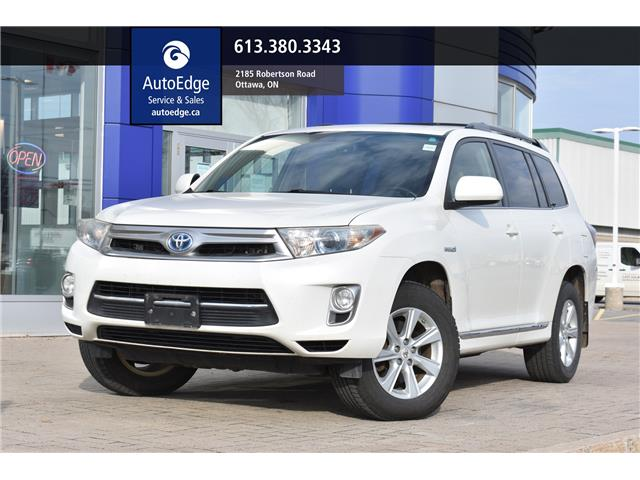 2012 Toyota Highlander Hybrid Base (Stk: A0428) in Ottawa - Image 1 of 27