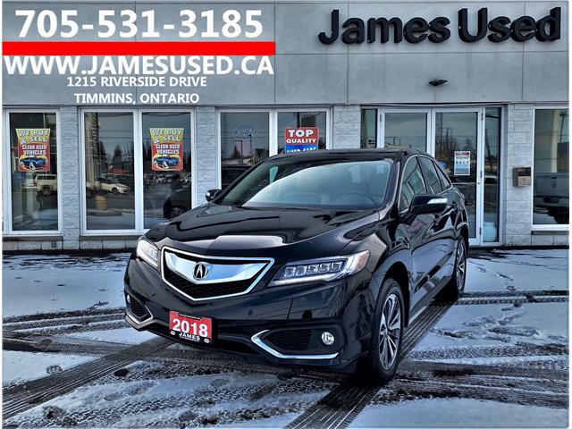 2018 Acura RDX Elite (Stk: P02854) in Timmins - Image 1 of 14