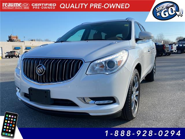 2017 Buick Enclave Leather 5GAKVBKDXHJ312419 L-4409 in LaSalle