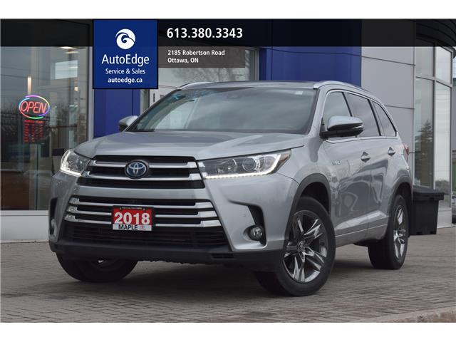 2018 Toyota Highlander Hybrid Limited (Stk: A0427) in Ottawa - Image 1 of 27