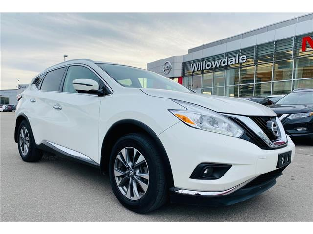 2017 Nissan Murano SL (Stk: ) in Thornhill - Image 1 of 19