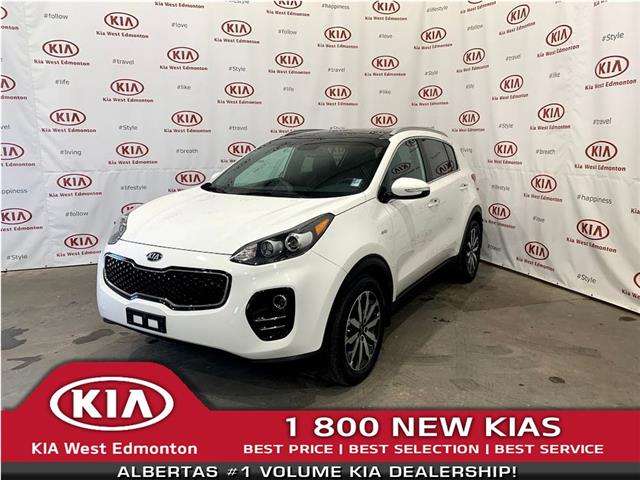 2017 Kia Sportage EX Tech (Stk: 7649) in Edmonton - Image 1 of 34
