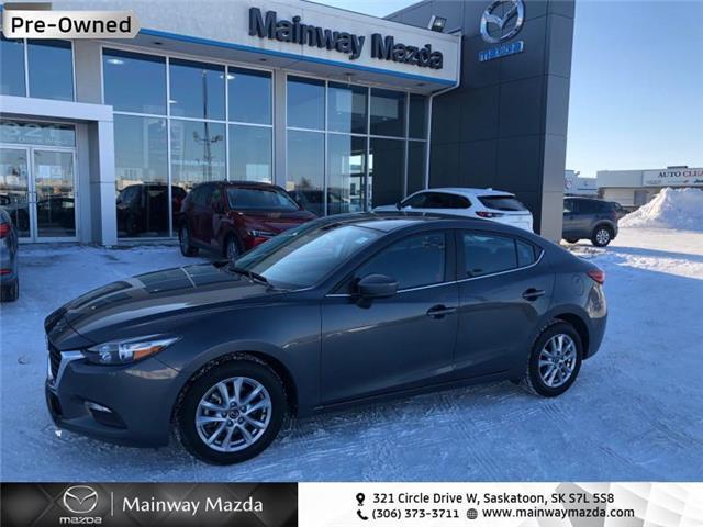 2018 Mazda Mazda3 GS (Stk: M21021a) in Saskatoon - Image 1 of 14