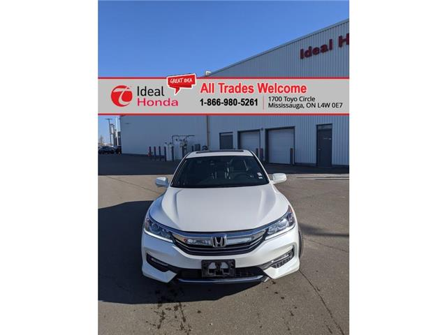 2017 Honda Accord Sport (Stk: I210028A) in Mississauga - Image 1 of 24