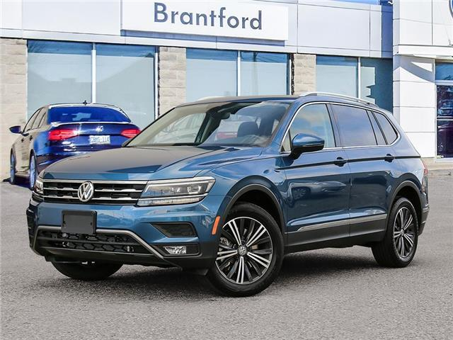 2020 Volkswagen Tiguan Highline (Stk: TI20302) in Brantford - Image 1 of 10