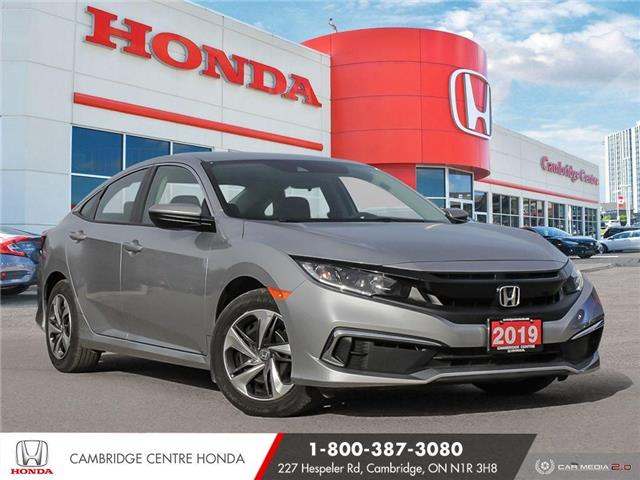 2019 Honda Civic LX (Stk: 20606A) in Cambridge - Image 1 of 27