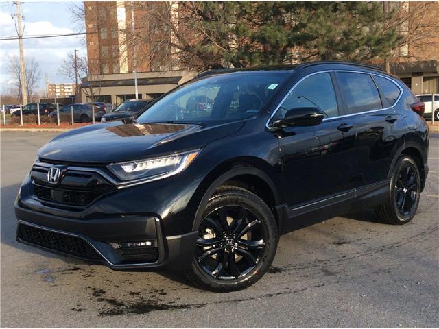 2021 Honda CR-V Black Edition | NAVI | LEATHER | SUNROOF | (Stk: 21-0033) in Ottawa - Image 1 of 27