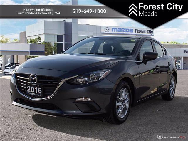 2016 Mazda Mazda3 GS (Stk: MW0161) in London - Image 1 of 15