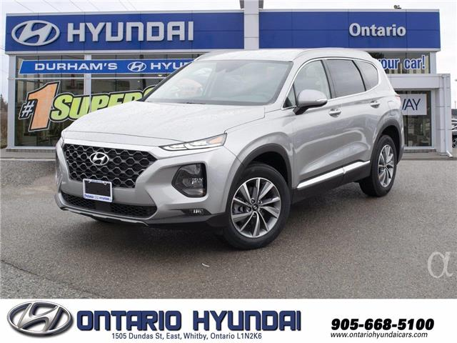 2020 Hyundai Santa Fe Preferred 2.0 w/Sun & Leather Package (Stk: 253584) in Whitby - Image 1 of 20