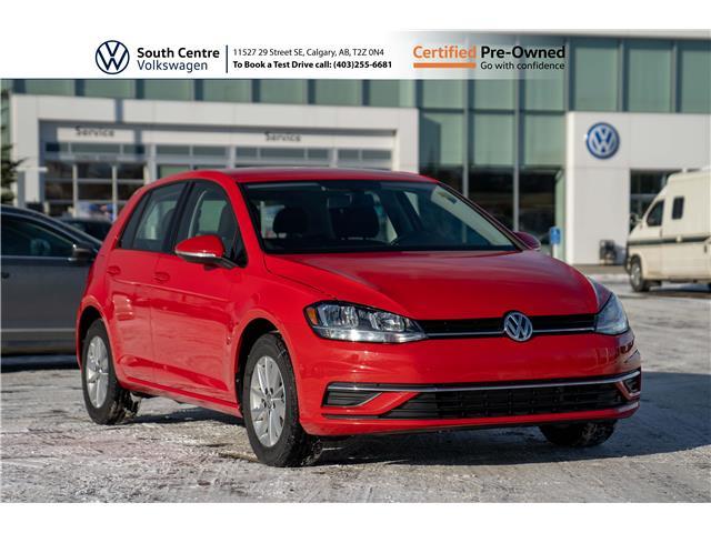 2019 Volkswagen Golf 1.4 TSI Comfortline (Stk: U6667) in Calgary - Image 1 of 36
