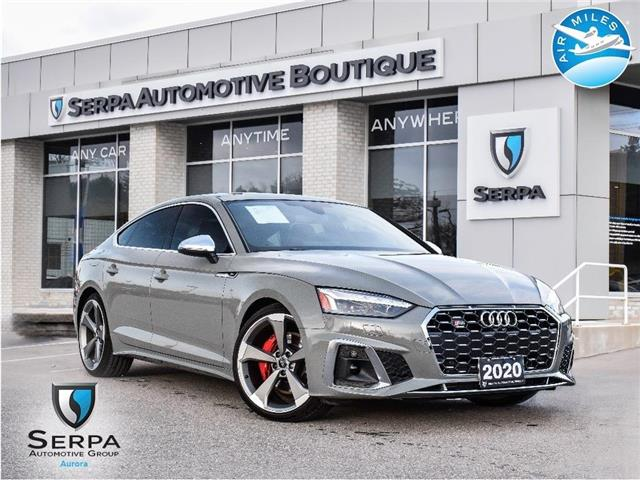 2020 Audi S5 3.0T Technik (Stk: CP036) in Aurora - Image 1 of 30