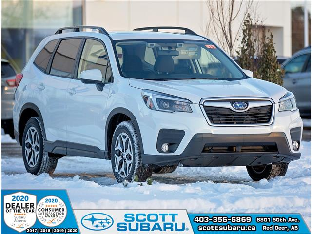 2021 Subaru Forester Touring (Stk: 423460) in Red Deer - Image 1 of 18