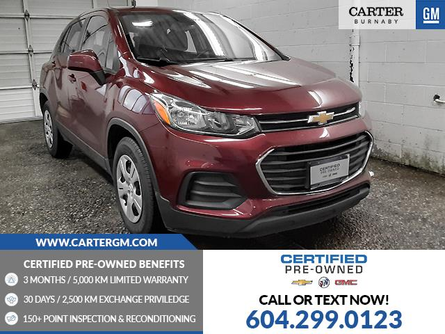 2017 Chevrolet Trax LS (Stk: P9-62930) in Burnaby - Image 1 of 21