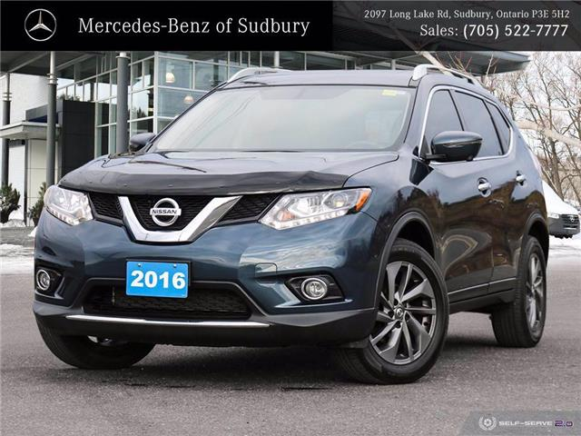 2016 Nissan Rogue SL Premium (Stk: UM1150) in Sudbury - Image 1 of 26