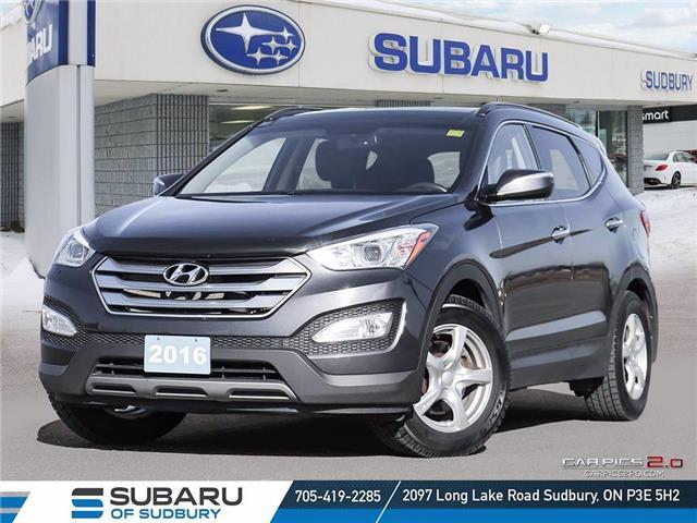 2016 Hyundai Santa Fe Sport 2.0T Limited (Stk: S20117A) in Sudbury - Image 1 of 25
