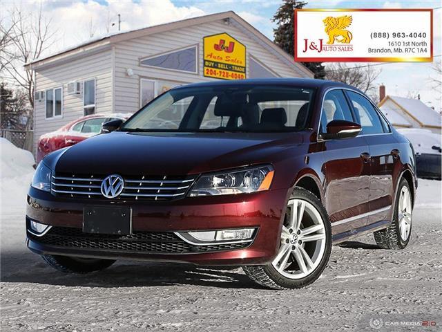 2012 Volkswagen Passat 2.0 TDI Comfortline (Stk: JB19134) in Brandon - Image 1 of 27