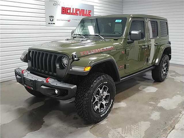 2021 Jeep Wrangler Unlimited Rubicon (Stk: 1028) in Belleville - Image 1 of 22