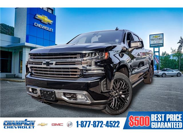 2021 Chevrolet Silverado 1500 High Country (Stk: 21-11) in Trail - Image 1 of 30