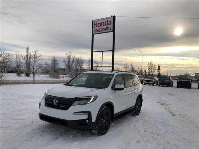 2021 Honda Pilot Black Edition (Stk: H16-3610) in Grande Prairie - Image 1 of 26