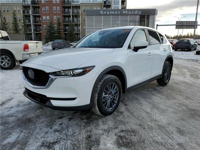 2021 Mazda CX-5 GS (Stk: N6137) in Calgary - Image 1 of 4
