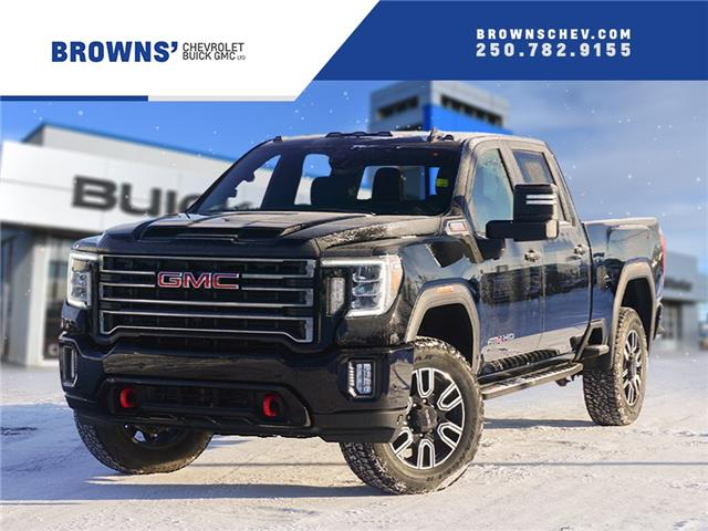 2021 GMC Sierra 3500HD AT4 (Stk: T21-1634) in Dawson Creek - Image 1 of 14