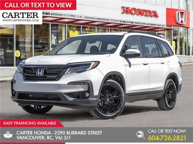 2021 Honda Pilot Black Edition (Stk: 1M24740) in Vancouver - Image 1 of 24