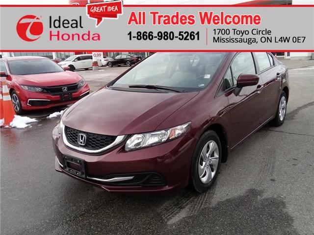 2015 Honda Civic LX (Stk: I201184A) in Mississauga - Image 1 of 18