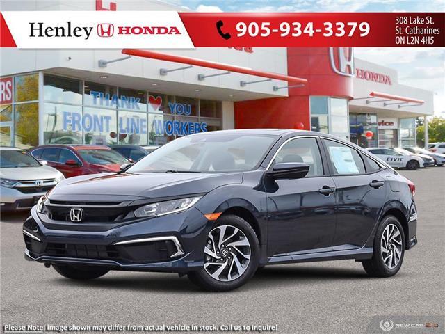 2020 Honda Civic EX (Stk: H18643) in St. Catharines - Image 1 of 23
