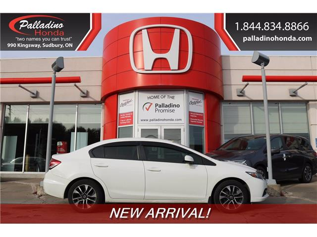 2013 Honda Civic EX (Stk: 22861A) in Greater Sudbury - Image 1 of 1