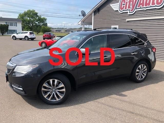 2014 Acura MDX Navigation Package (Stk: ) in Sussex - Image 1 of 29