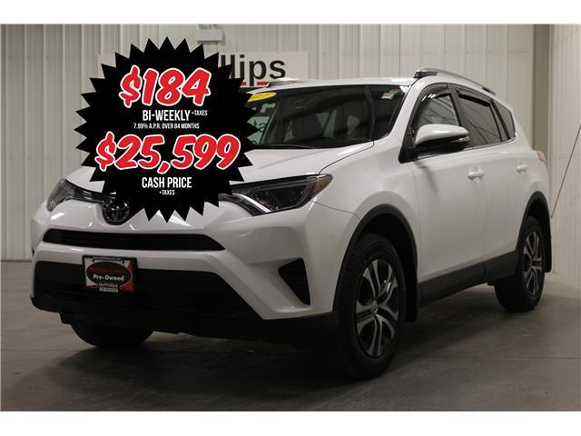 2017 Toyota RAV4 LE (Stk: U044102A) in Winnipeg - Image 1 of 24