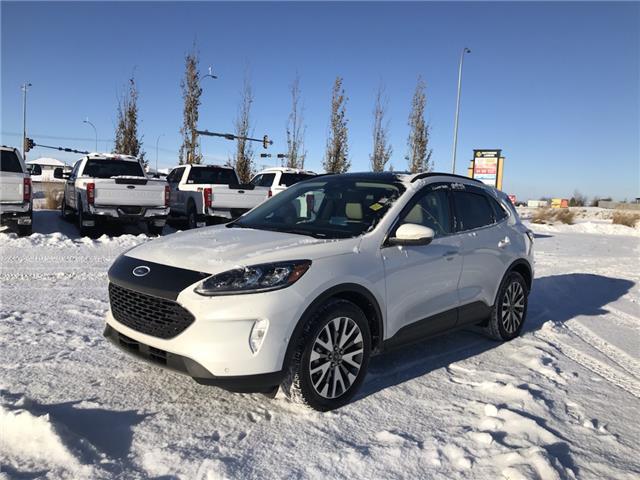 2020 Ford Escape Titanium Hybrid (Stk: LSC075) in Fort Saskatchewan - Image 1 of 23