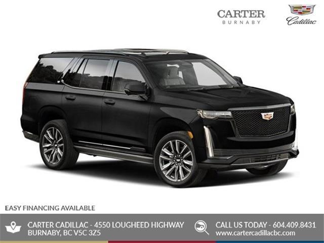 New 2021 Cadillac Escalade Sport Platinum  - Burnaby - Carter GM Burnaby