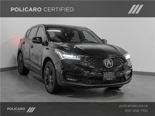 2019 Acura RDX A-Spec (Stk: 801669T) in Brampton - Image 1 of 22
