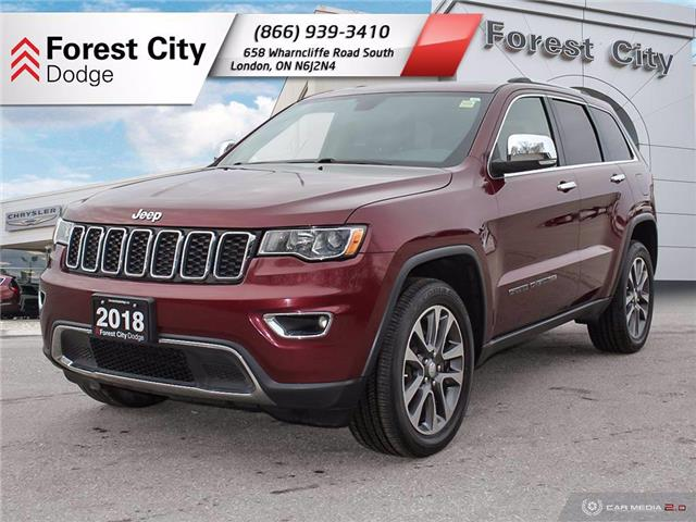 2018 Jeep Grand Cherokee Limited (Stk: DT0061) in Sudbury - Image 1 of 19