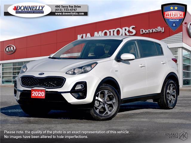 2020 Kia Sportage LX (Stk: KU2462) in Ottawa - Image 1 of 27