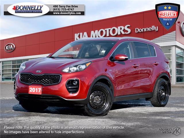 2017 Kia Sportage EX (Stk: KU2472) in Ottawa - Image 1 of 29