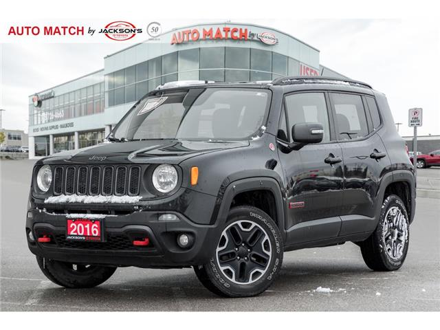 2016 Jeep Renegade Trailhawk (Stk: U3956A) in Barrie - Image 1 of 20