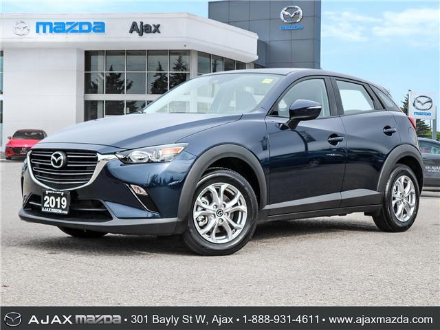 2019 Mazda CX-3 GS (Stk: 19-1510) in Ajax - Image 1 of 28