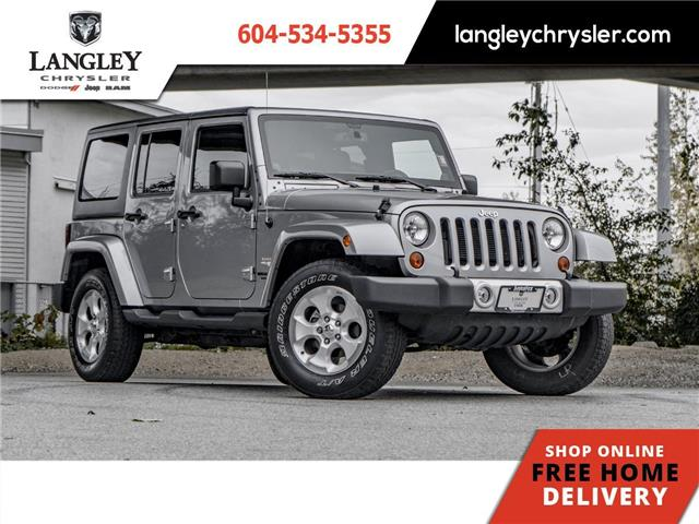2013 Jeep Wrangler Unlimited Sahara (Stk: M519898A) in Surrey - Image 1 of 21