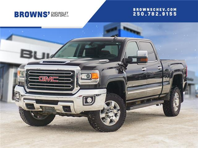 2019 GMC Sierra 3500HD SLT (Stk: T21-1630A) in Dawson Creek - Image 1 of 15