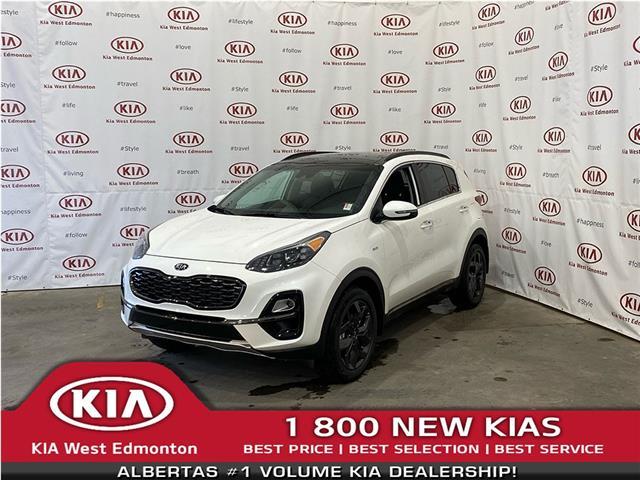 2021 Kia Sportage SX (Stk: 22684) in Edmonton - Image 1 of 22