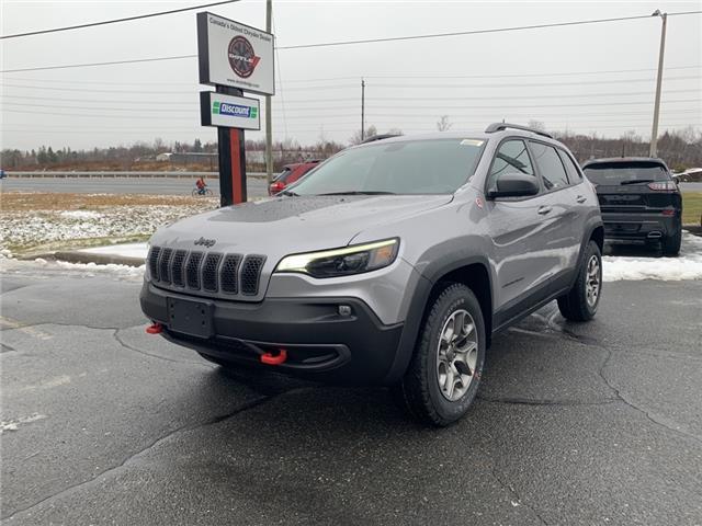 2021 Jeep Cherokee Trailhawk (Stk: 6653) in Sudbury - Image 1 of 19
