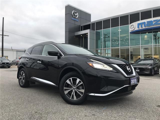 2019 Nissan Murano SV (Stk: UM2491) in Chatham - Image 1 of 22